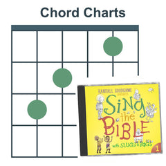 Sing the Bible Vol. 1 (Chord Charts)
