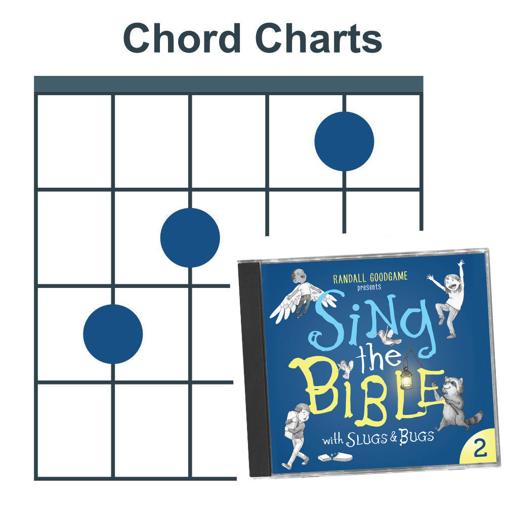 Sing the Bible Vol. 2 (Chord Charts)