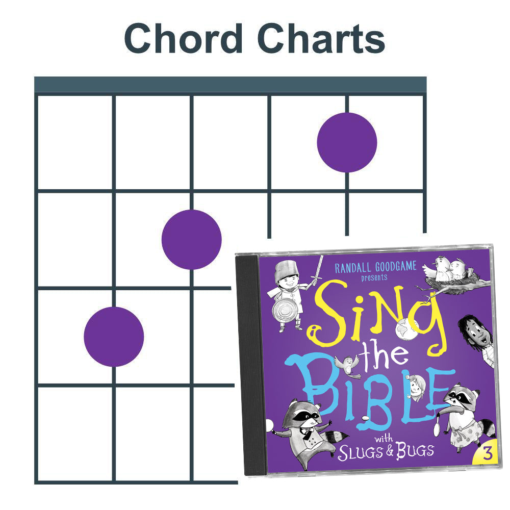 Sing the Bible Vol. 3 (Chord Charts)