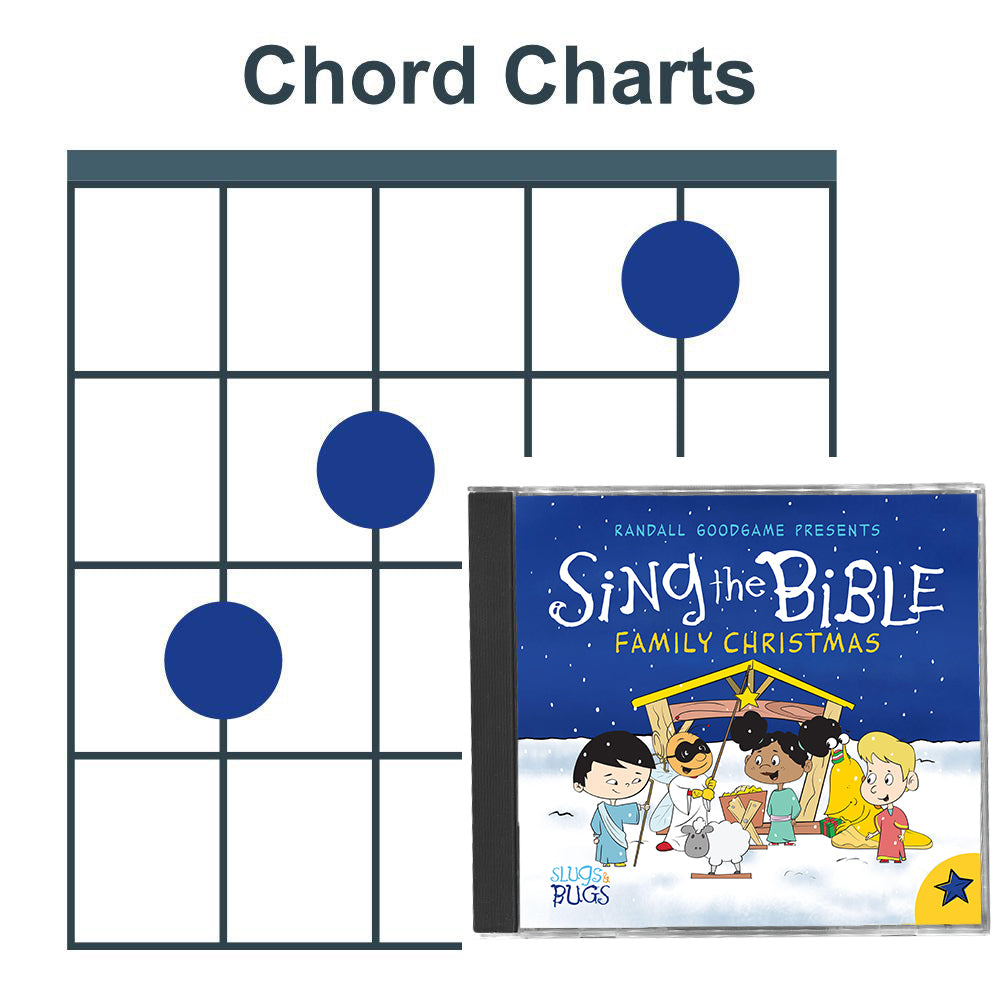 Sing the Bible Family Christmas (Chord Charts)
