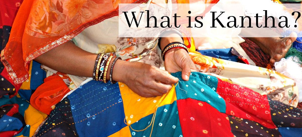 What is Kantha Quilting?