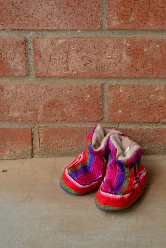 Fair Trade Guatemalan Baby Slippers