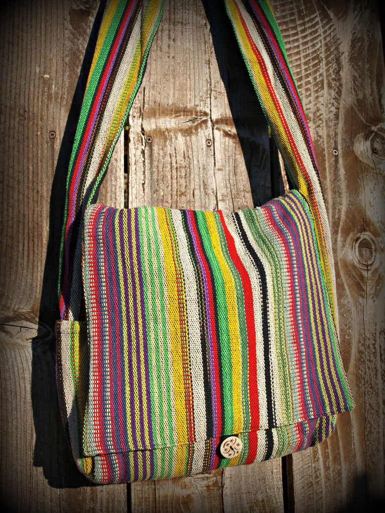 Fair Trade Bucket Bag Purse