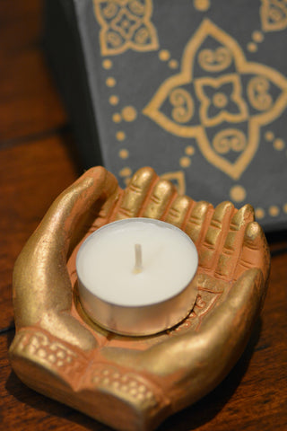 Buddha Hand Candle Holder
