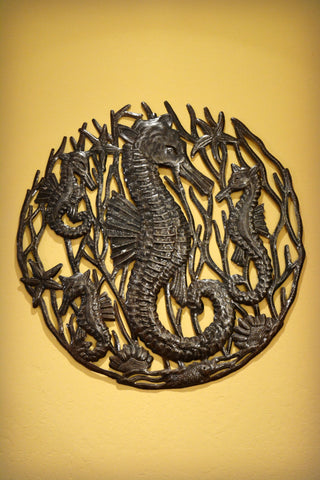 Family of Seahorses Wall Hanging