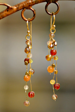 Akha Reena Ember Earrings