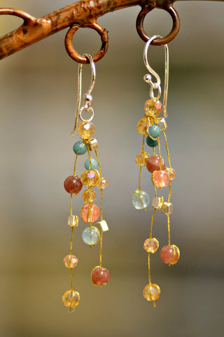 Akha Reena Sunrise Earrings