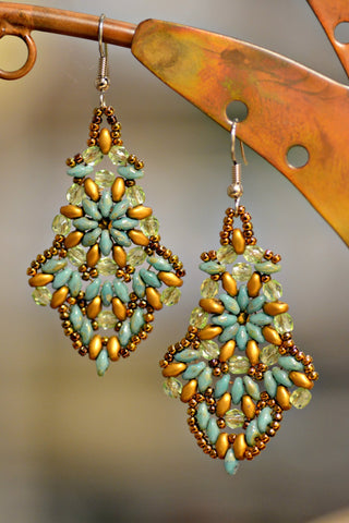Byzantine Beaded Earrings