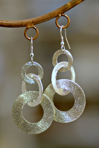 Handmade Links Earrings