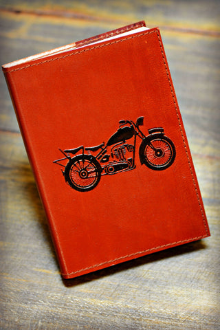 "Leather ""Open Road"" Journal"