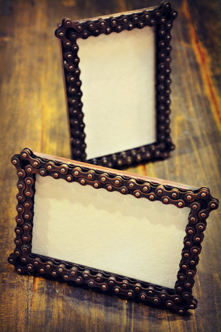 Bike Chain Picture Frame