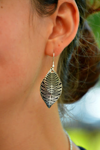 Silver Sanctuary Earrings