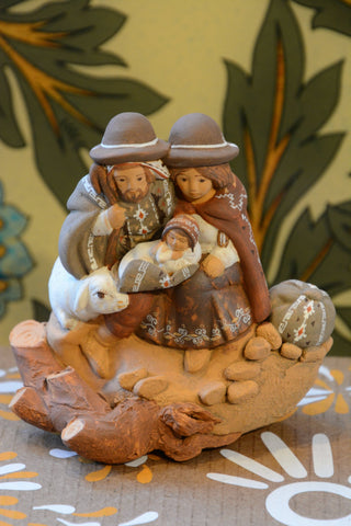 Peruvian Holy Family Nativity