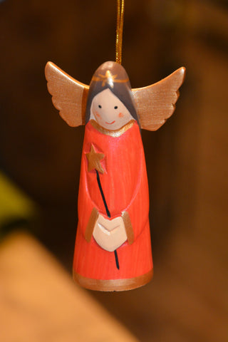 Smiling Angel Ornament