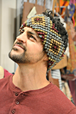 Men's Bolivian Knit Headband