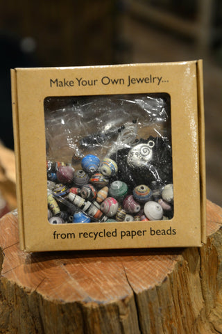 Recycled Paper Jewelry Kit