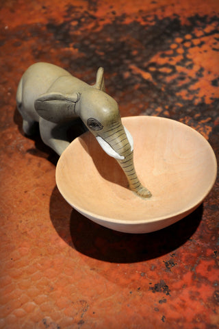 Elephant Drinking Bowl