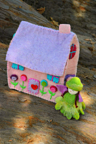 Felt Fairy Cottage