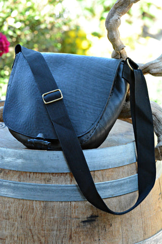 Recycled Tire Shoulder Bag