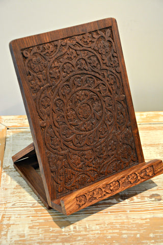 Rosewood Tablet & Cookbook Stand