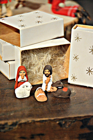 Teeny-Tiny Matchbox Nativity Set