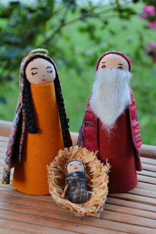 Guatemalan Nativity Set