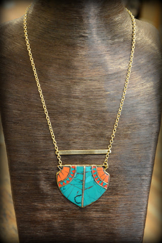 Tahoe Tribal Necklace