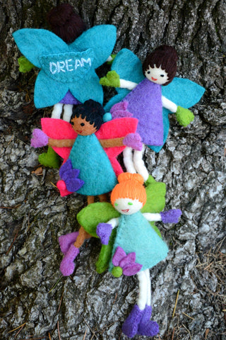 Felted Tooth Fairies
