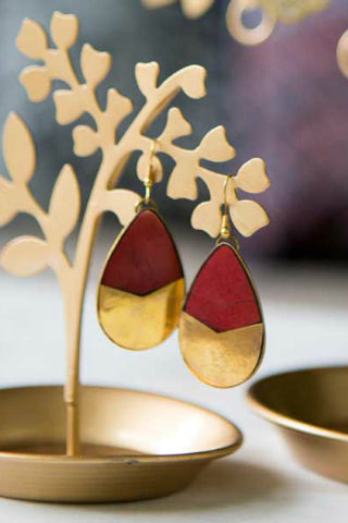 Tara Stone Tear Drop Earrings