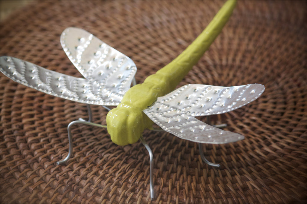 Wood and Aluminum Dragonfly