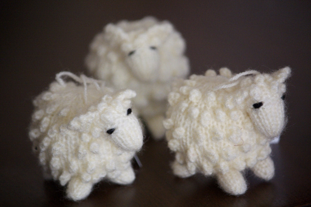 Peruvian Sheep Ornaments