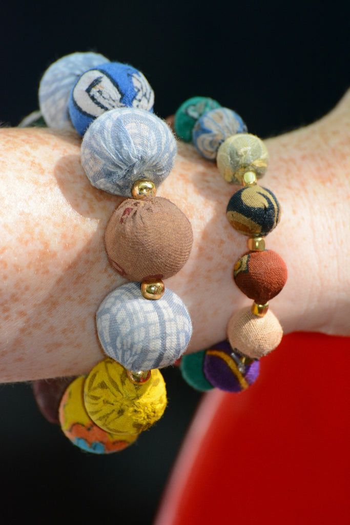 Kantha Beaded Bracelets