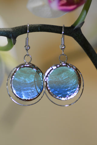 Oceanside Capiz Earrings