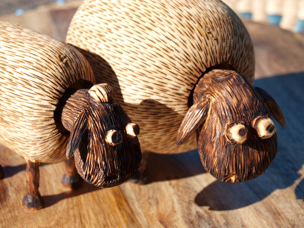 Bobble Head Sheep Set
