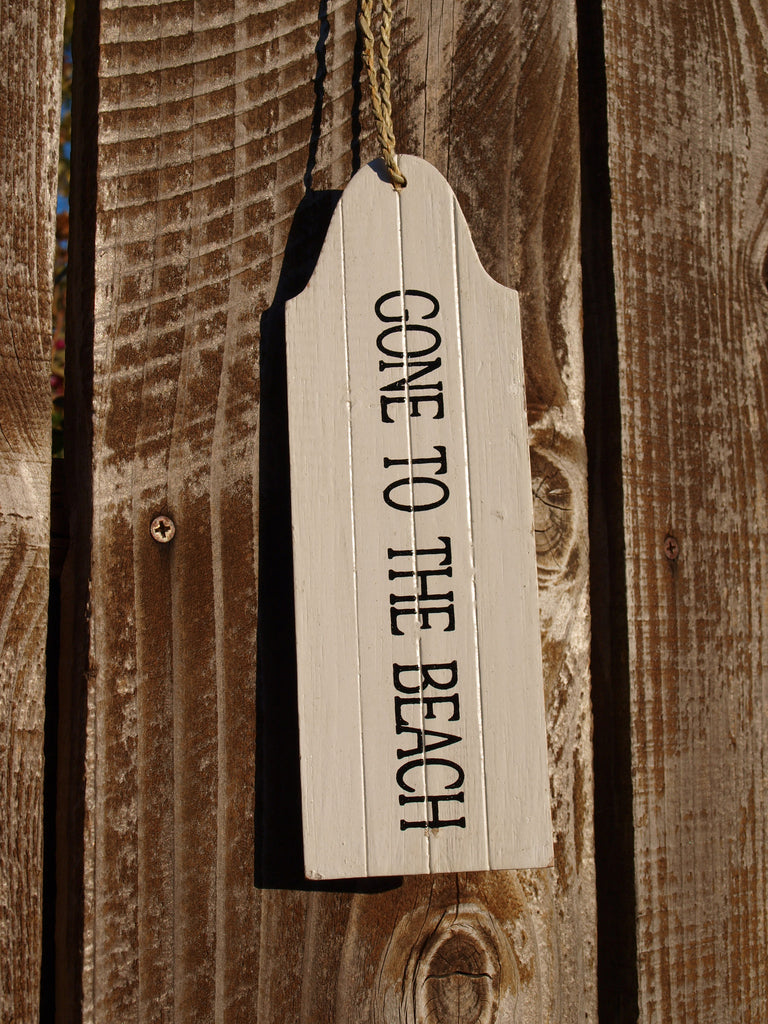 Gone to the Beach Door Hanger