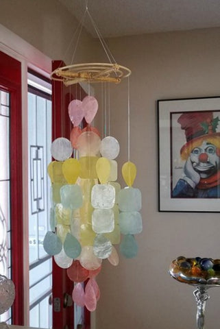 Rainbow Wind Chime - Medium