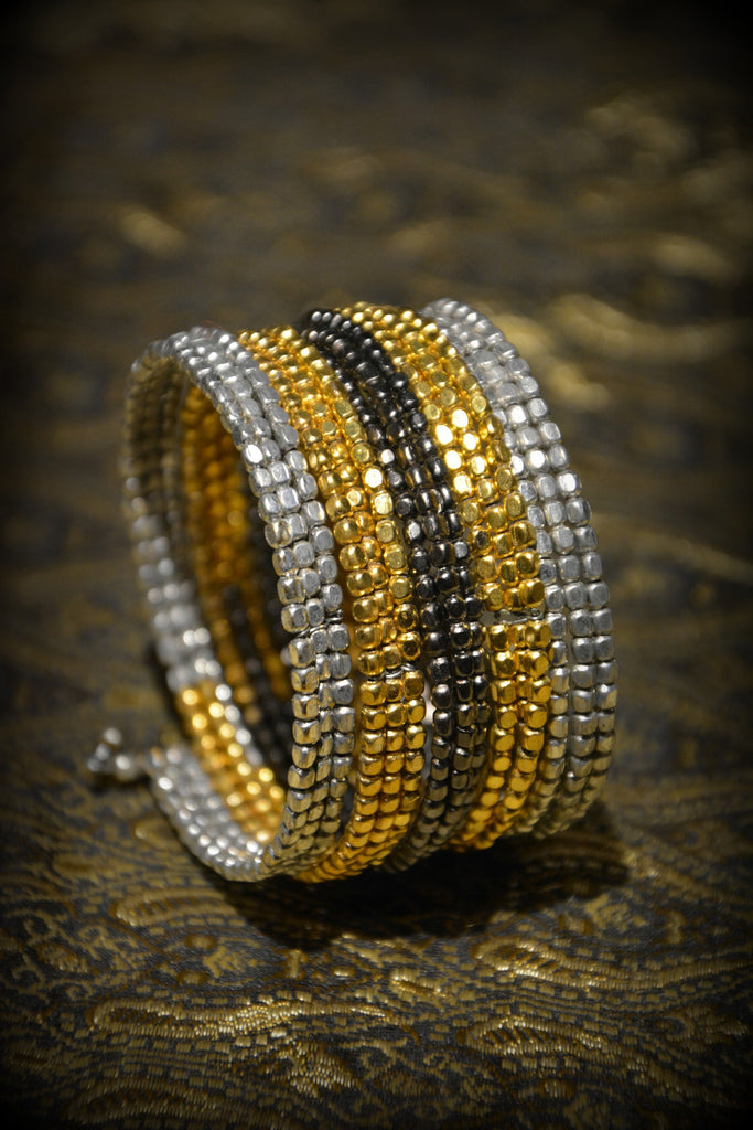 Serpentine Wrap Bracelet