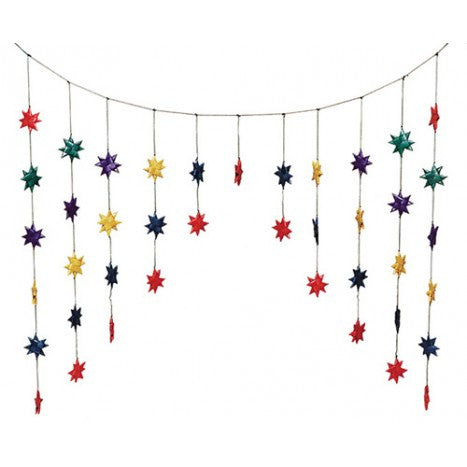 Star Dangles Door Valance