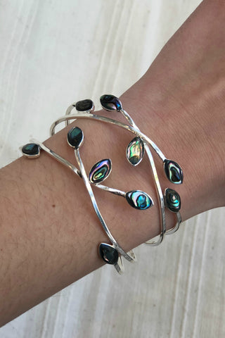 Mexican Abalone Cuff Bracelet