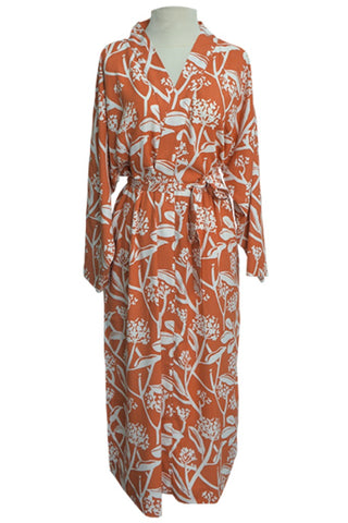 Burnt Orange Fair Trade Robe