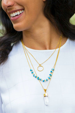 Indira Crystal Necklace
