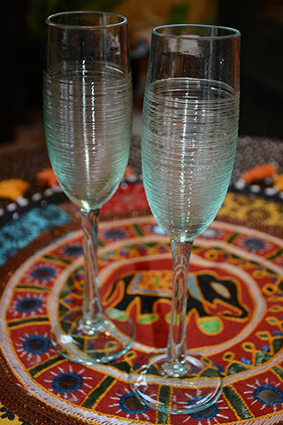 Fair Trade Champagne Flutes
