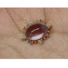 Orchid Amethyst Necklace