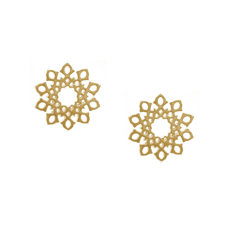 Floral Arabesque Earrings