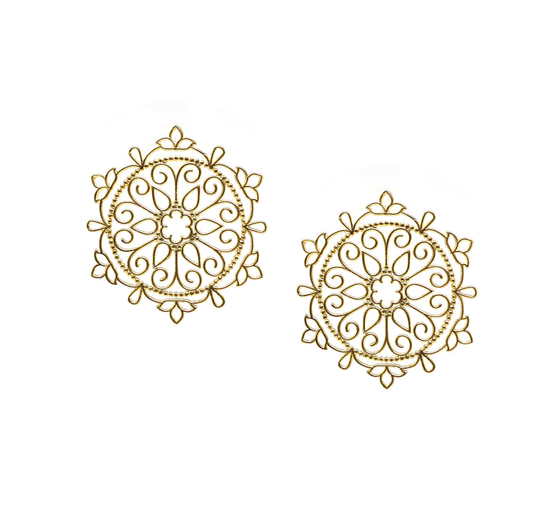 Mandala Earrings