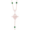 Peacock Tassel Necklace
