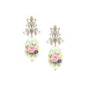 Pink Petal Wreathe Earrings
