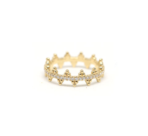 Gold Band Ring
