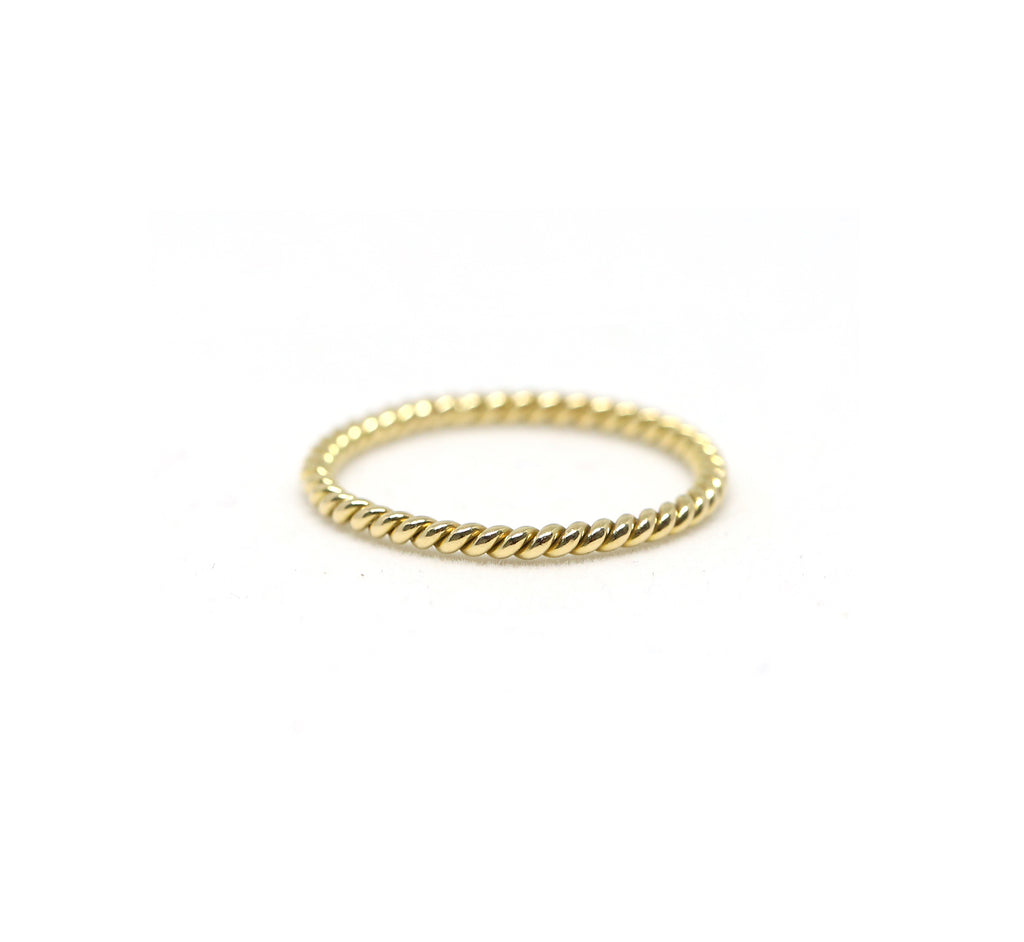Twisted Rope Band Ring