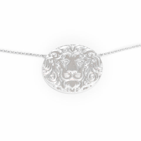 Saudi Emblem Diamond Necklace